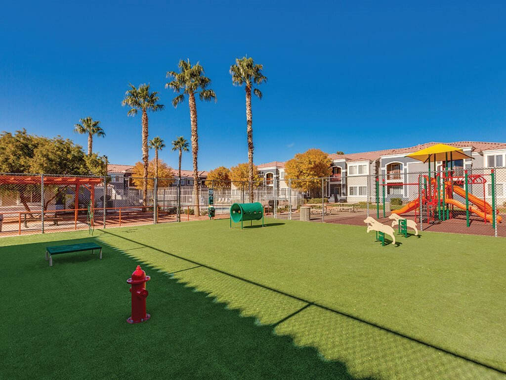 Dog Park at Loma Vista Apartments in North Las Vegas NV