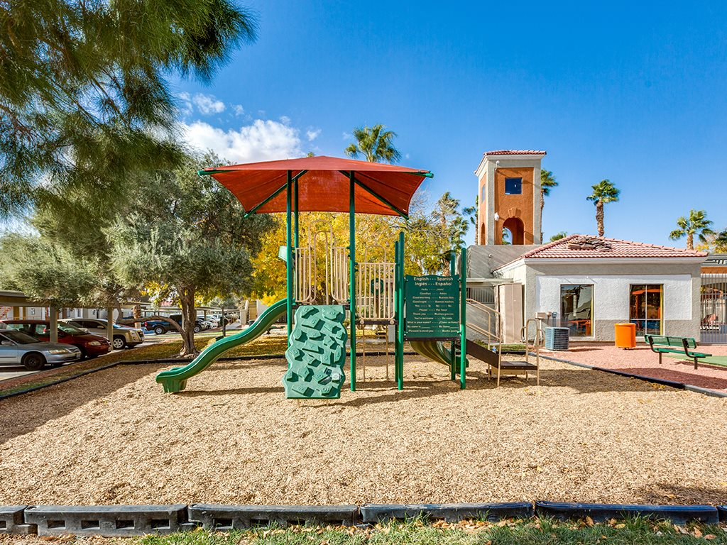 Playground at Stonegate apartments in Las Vegas NV