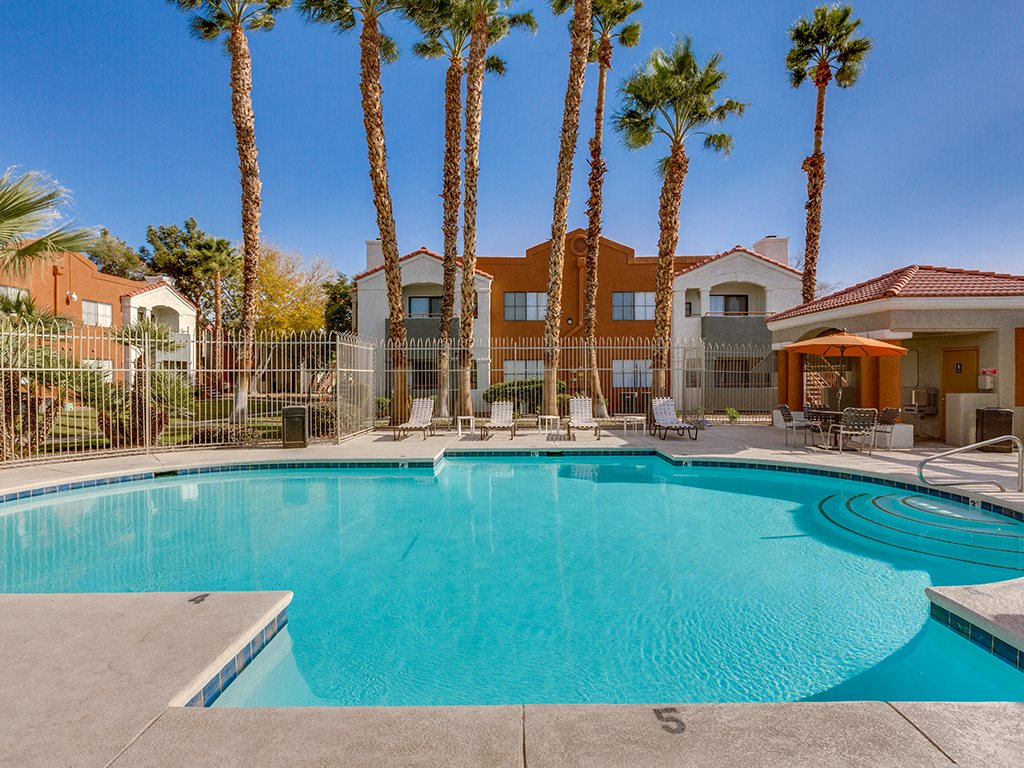 Pool at Stonegate Apartments in Las Vegas