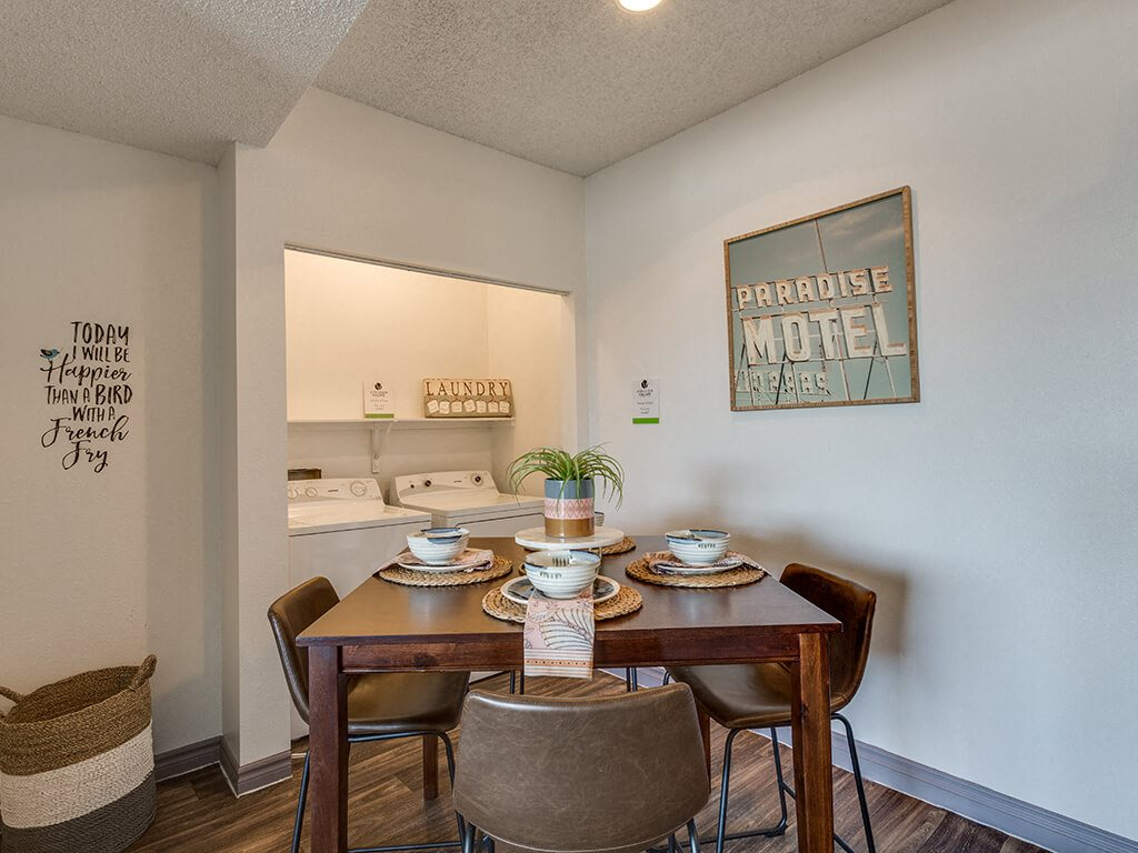 Dining area at Viridian Palms apartments in Las Vegas NV