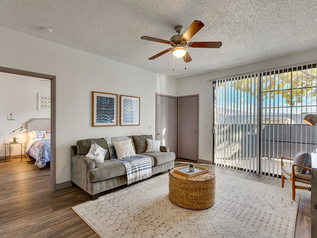 Living room at Viridian Palms apartments in Las Vegas NV