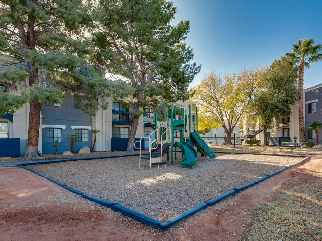 Playground at Viridian Palms apartments in Las Vegas NV