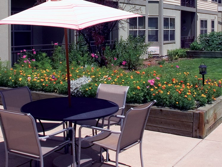Cottage Hill Butterfly Garden and Seating