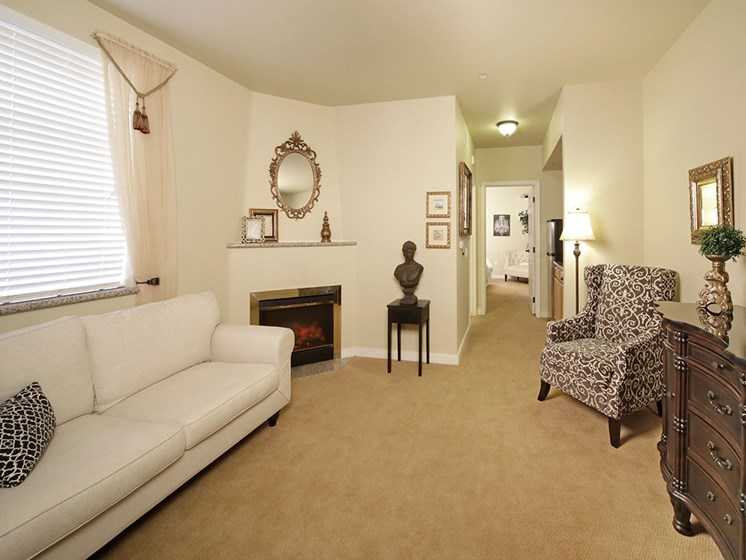 Extra-Comfortable Furnishings at Avila Senior Living at Downtown SLO, California, 93401