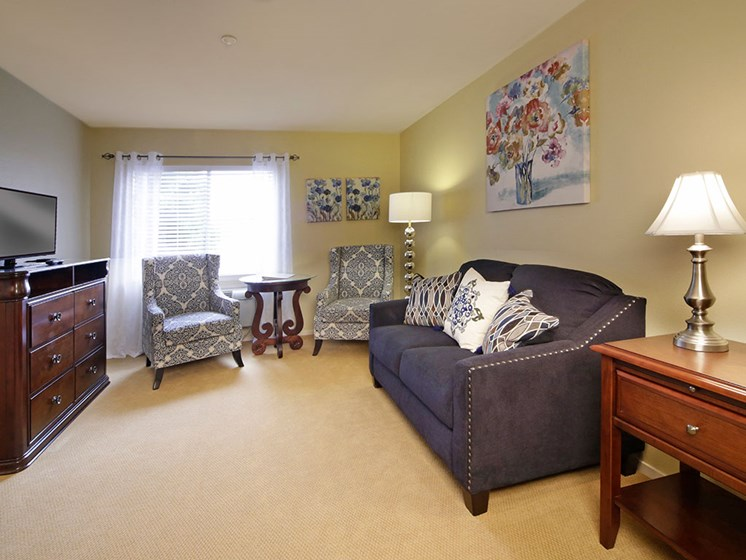 Quality Interiors and Welcoming Atmosphere at Avila Senior Living at Downtown SLO, California