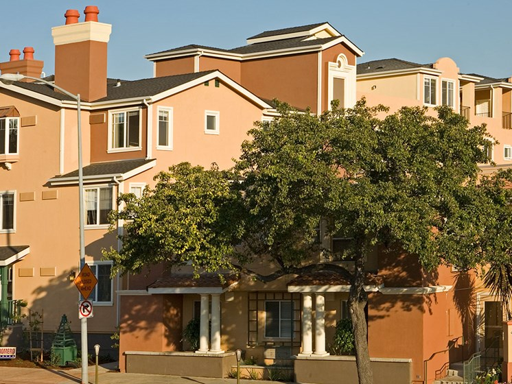 Exterior View Of Property at Avila Senior Living at Downtown SLO, San Luis Obispo