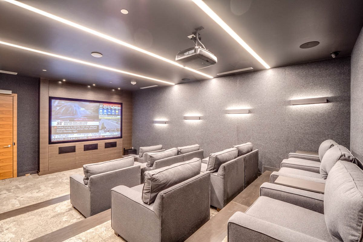Parkside Square - Amenity - Private Theatre
