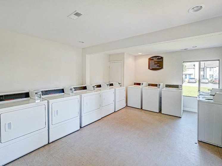laundry room at Southgate Apartments