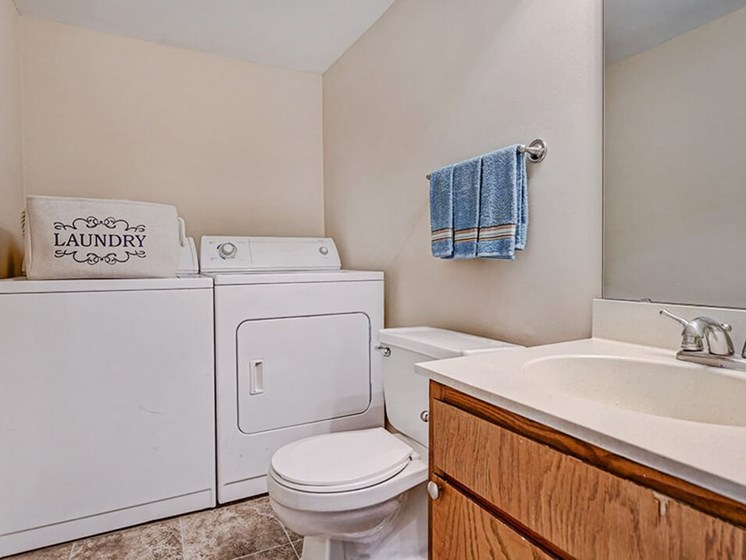apartments in Greenville with washer/dryer
