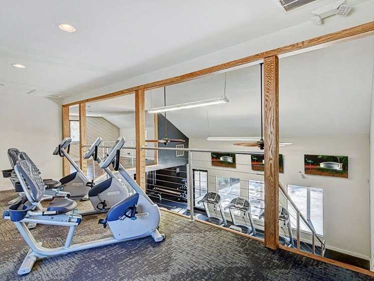 Southgate Apartments fitness center