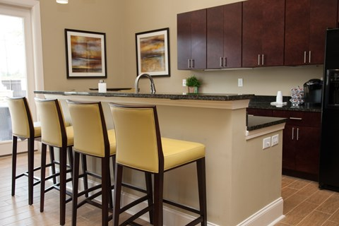 Residential Clubhouse Interior at Piedmont Place Apartments in Greensboro NC