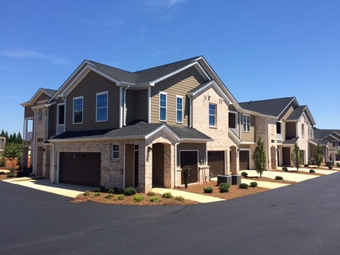 Resident Building Exterior at Piedmont Place in Greensboro NC