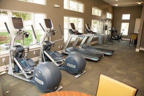 State-of-the-art Fitness Center at Piedmont Place in Greensboro NC