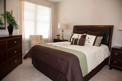 Model Bedroom Floor Plan at Piedmont Place in Greensboro NC