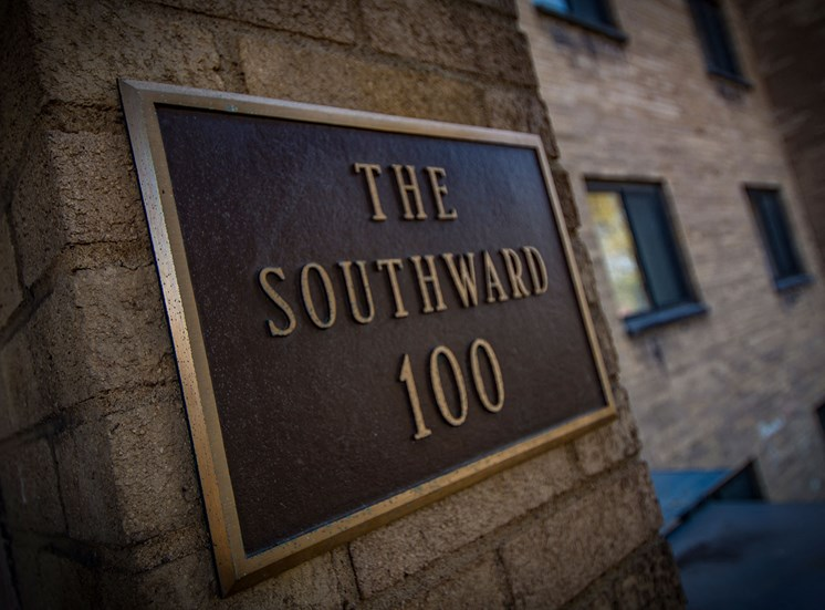 Carriage Park Apartments The Southward Sign