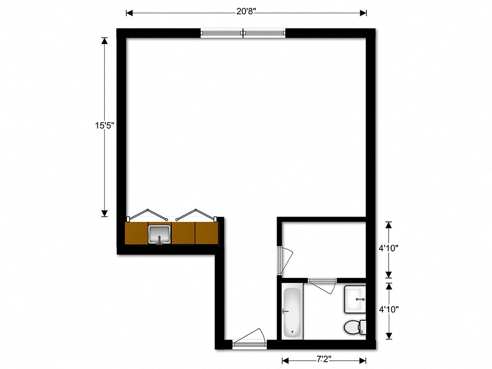 Floor Plans Of Carriage Park Apartments In Pittsburgh Pa