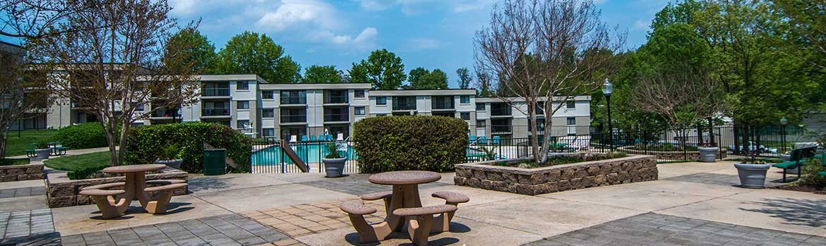 Ashley Apartments Pool Deck