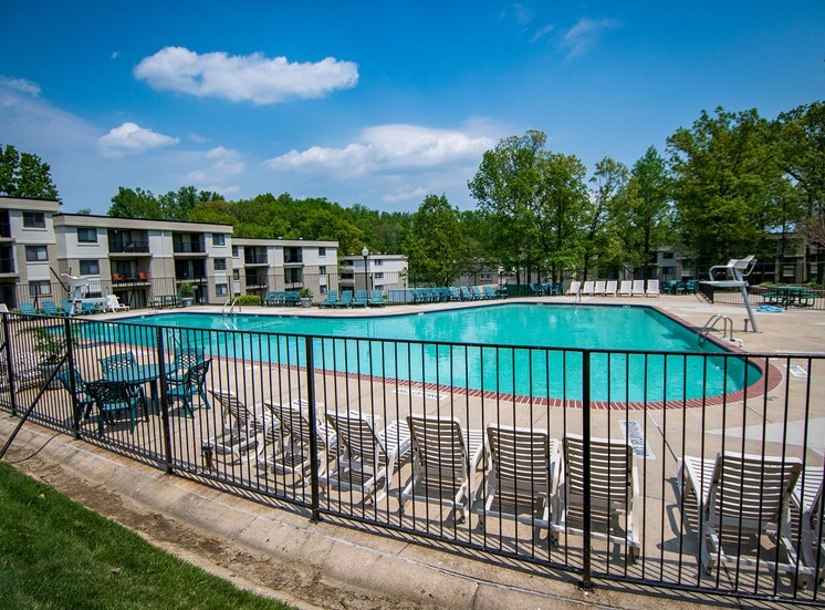 Ashley Apartments Pool Deck Side Photo