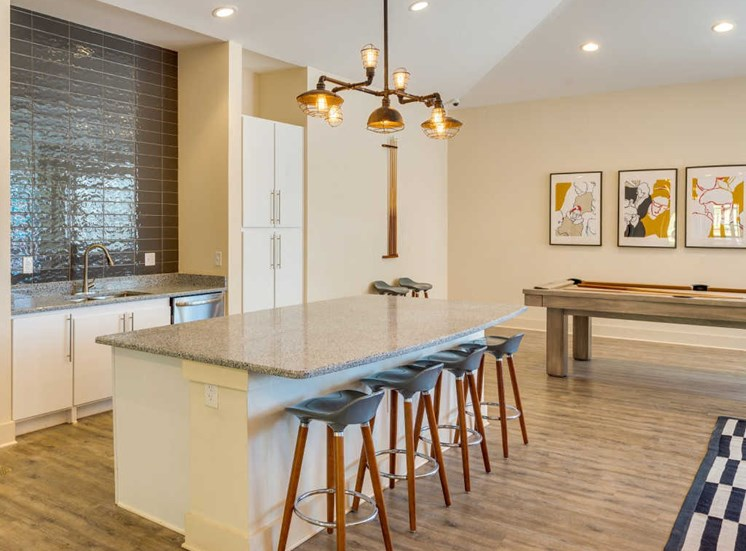 Clubhouse Kitchen at Evolve at Tega Cay, Fort Mill, 29708
