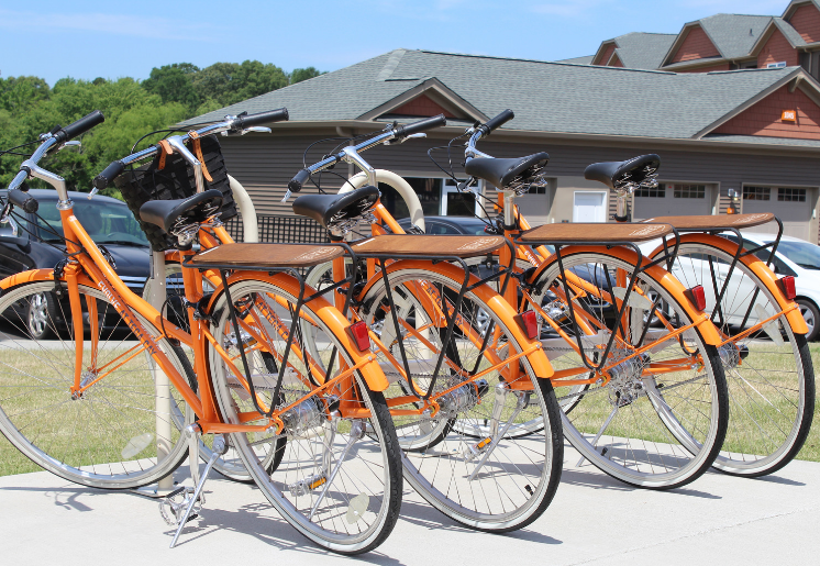 Bikes at Evolve at Tega Cay Apartments in Fort Mill SC