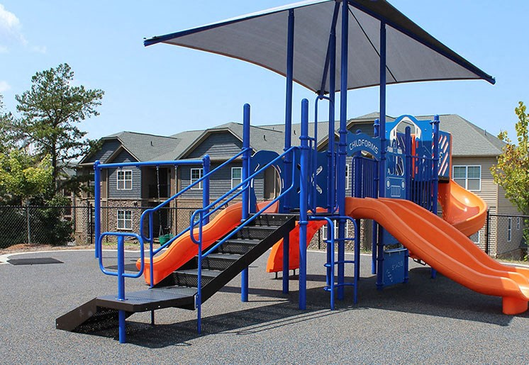 Playground 1 at Evolve at Tega Cay Apartments in Fort Mill