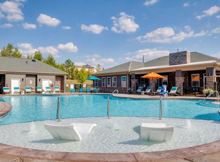 Relaxing Area Around Pool at Evolve at Tega Cay, South Carolina, 29708