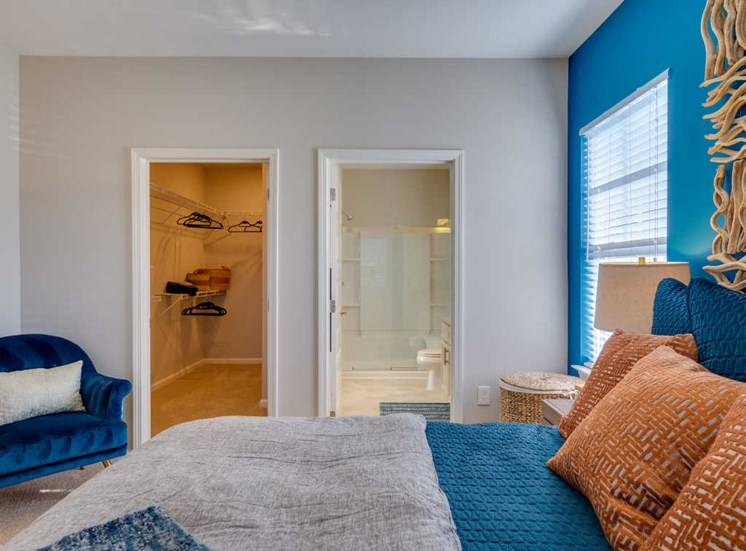 Spacious Bedrooms With En Suite Closet And Bathrooms at Evolve at Tega Cay, Fort Mill, South Carolina