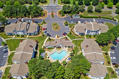 Incredible Bird's Eye View of the Avenues at Steel Creek Community