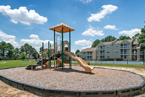 Residential Play Park at Avenues at Steele Creek Apartments