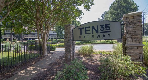 Front entry with Ten35 Signage