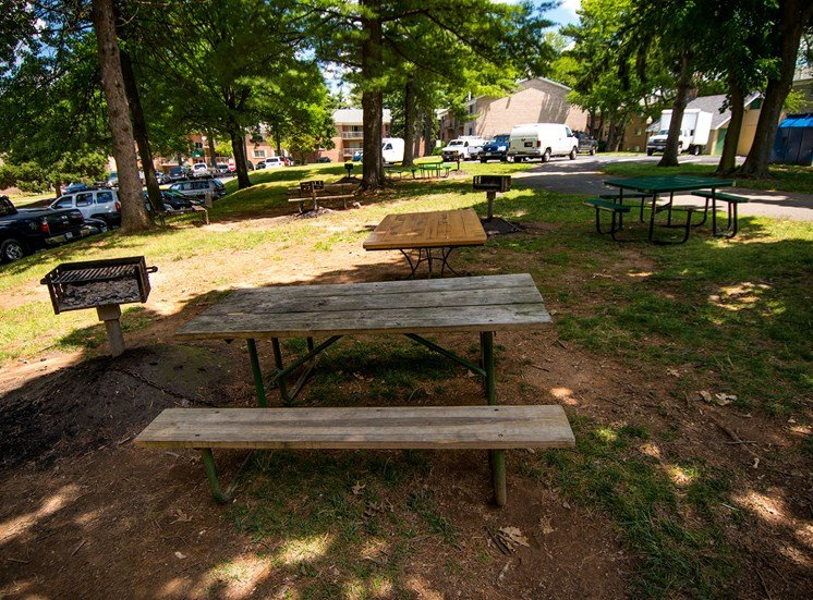 Maplewood Villas Apartments Picnic Area 02
