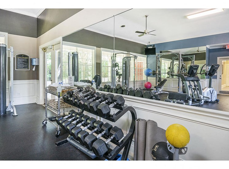 fitness center  - preserve at bartlett