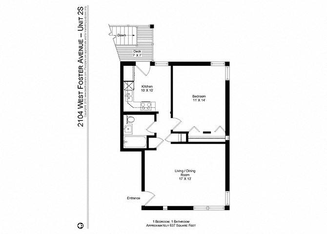 1 Bedroom | 1 Bath (B1)
