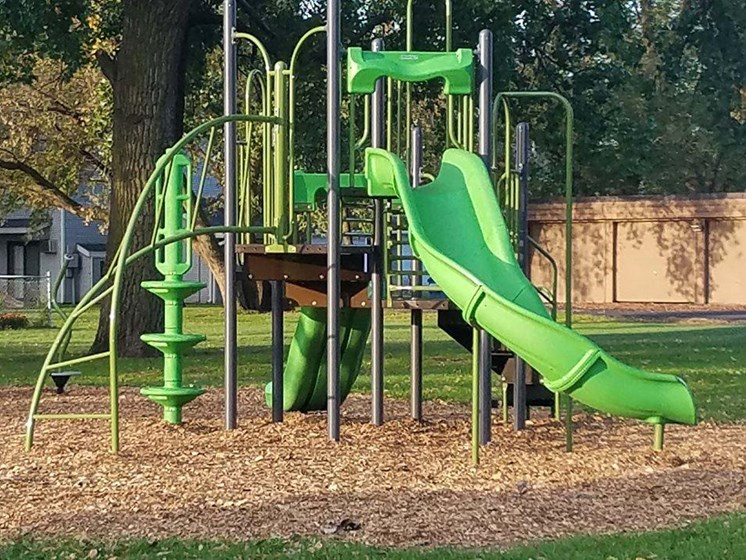 Playground at Upper Town Apartments in Saint Cloud, MN