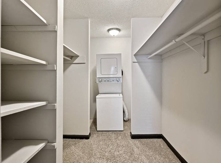 Large Closet with Washer and Dryer at Artesian East Village