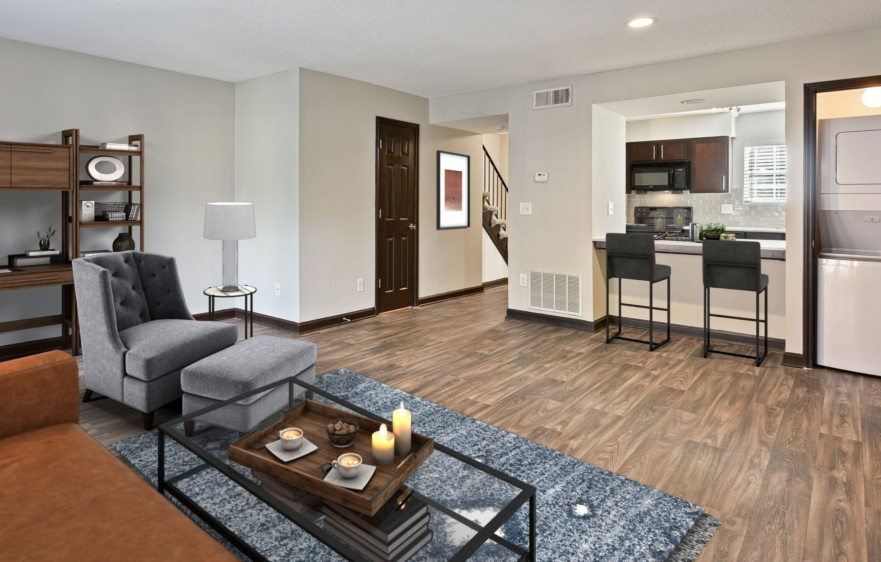 Living Rooms at Artesian East Village in Atlanta