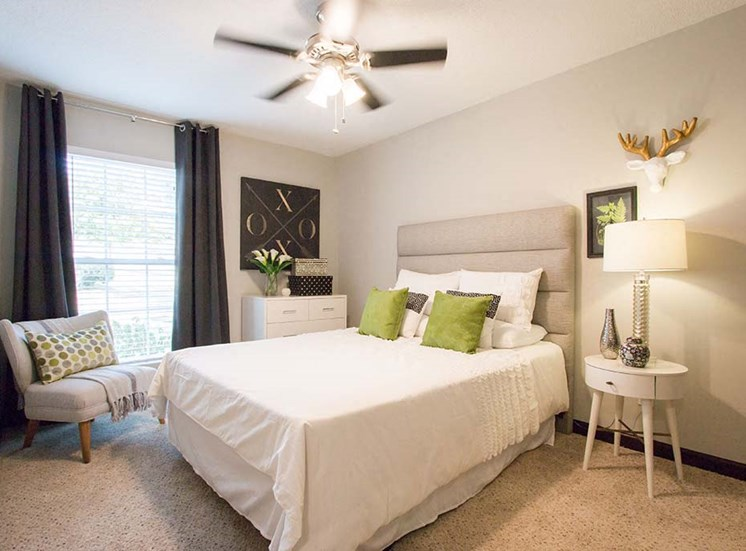 Guest Bedroom Feels Large and Spacious Bedrooms with Expansive Closets at Artesian East Village, Atlanta, GA 30316