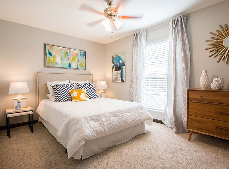 Master Bedroom Feels Large and Spacious Bedrooms with Expansive Closets at Artesian East Village, Atlanta, GA 30316
