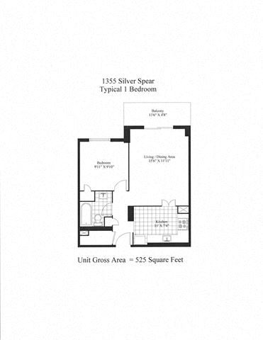 Silver Spear 1 Bedroom A