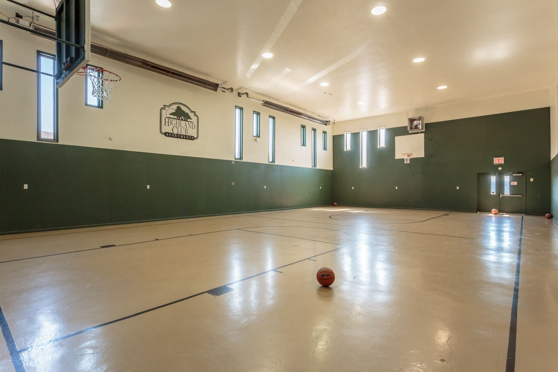Indoor Basketball Court at Highland Club Apartments, Watervliet, NY