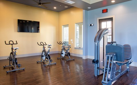 Exercise Room at MELA Luxury Apartments