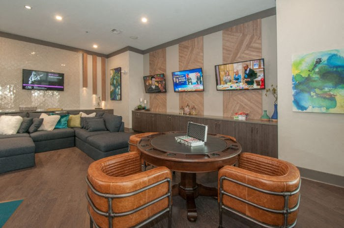resident clubhouse lounge