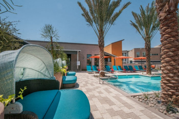 resident pool and lounge