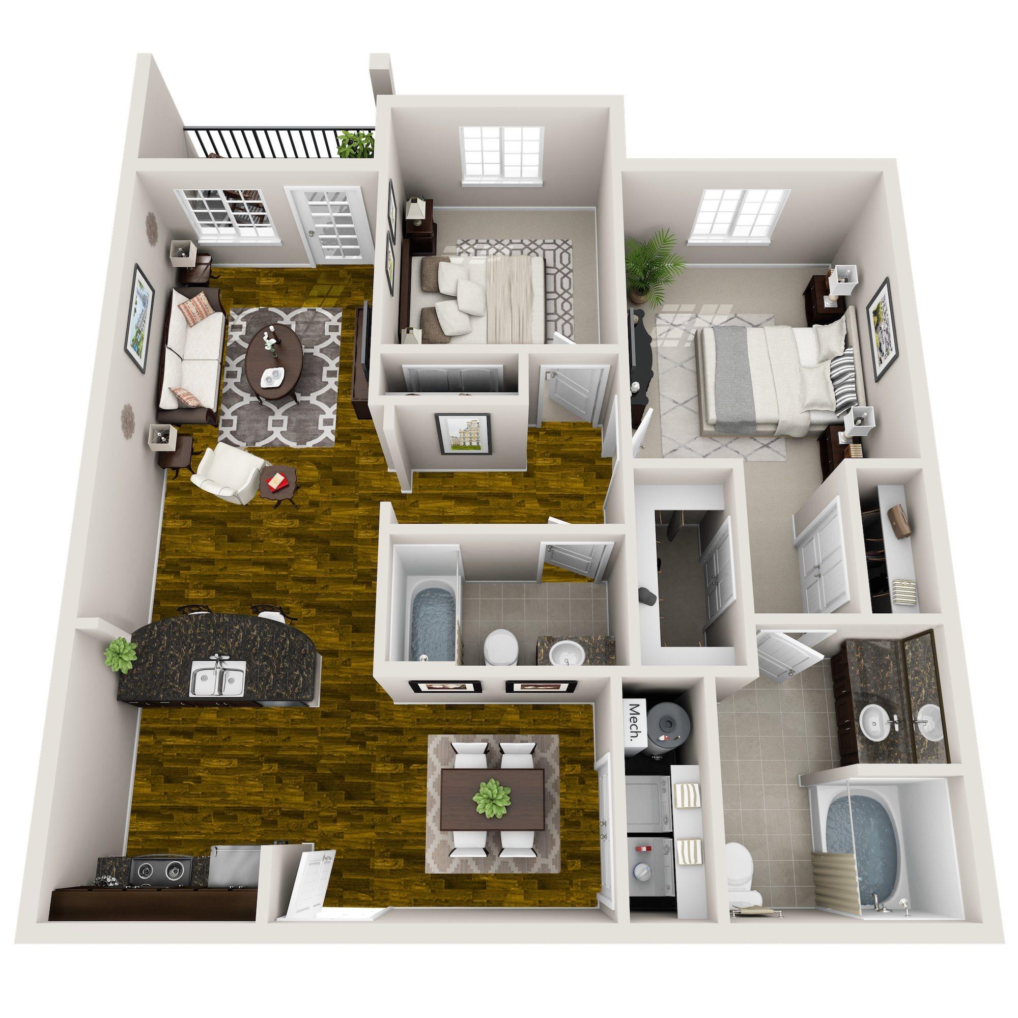 Sierra Ranch Apartments: 1, 2 & 3-Bedroom Apartments In Austin, TX