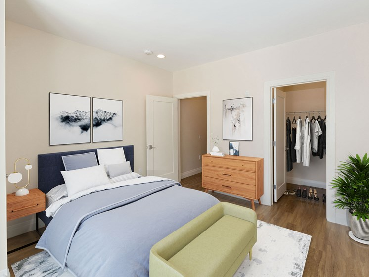 Spacious Bedrooms with Floor-To-Ceiling Windows - 28 Austin in Newton, MA