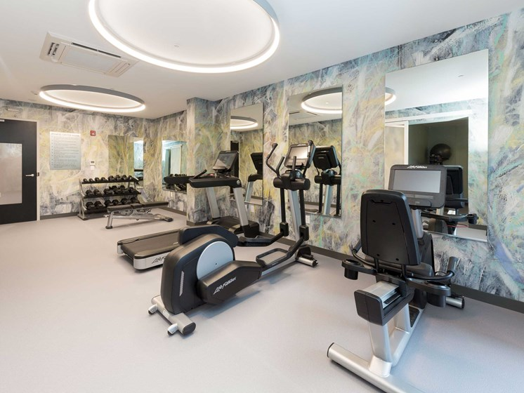 Modern Fitness Center at 28 Austin, Newton, Massachusetts