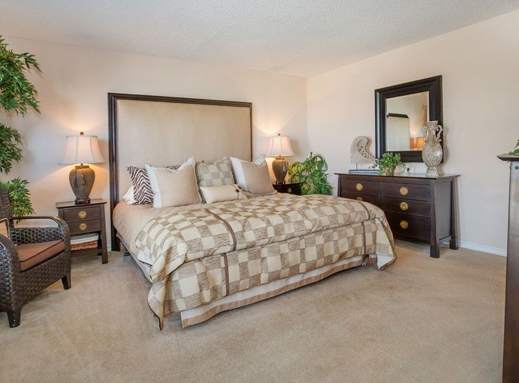 The Pointe Apartments El Paso Master Bedroom Interior Three