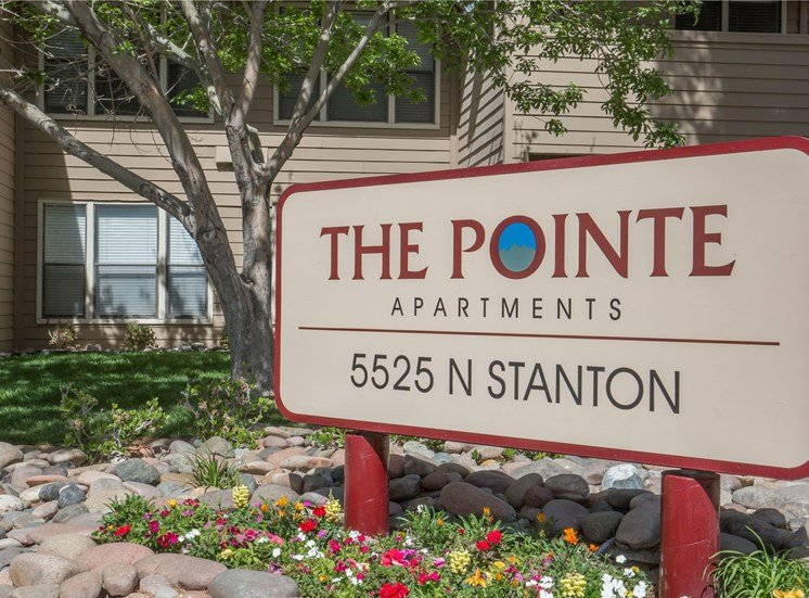 The Pointe Apartments El Paso Texas Sign 2