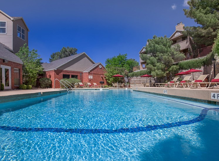 The Pointe Apartments El Paso Texas Swimming Pool 5