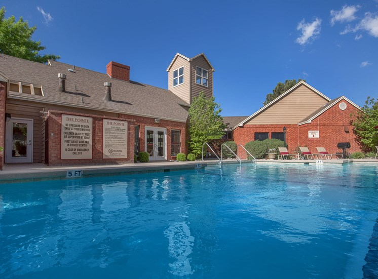 The Pointe Apartments El Paso Texas Swimming Pool